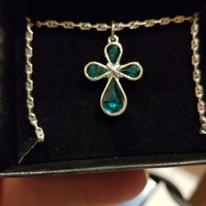 Avon emerald cross